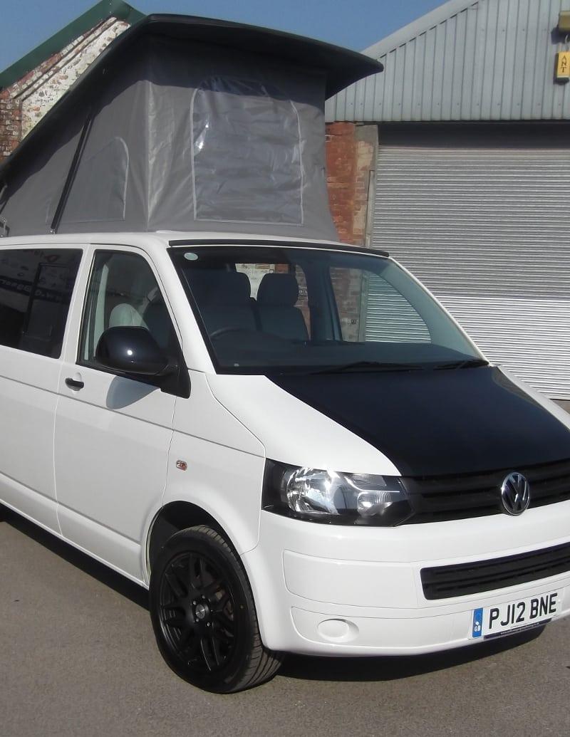 Volkswagen (VW) T5 with pop roof