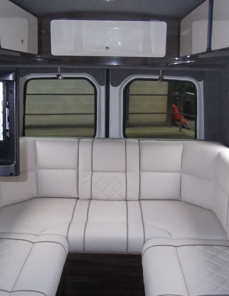 Mercedes Sprinter Rear Seats