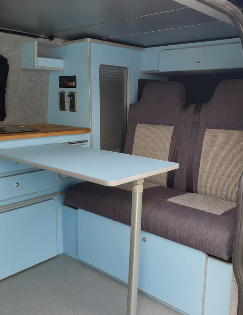 Ford Transit Internal Layout