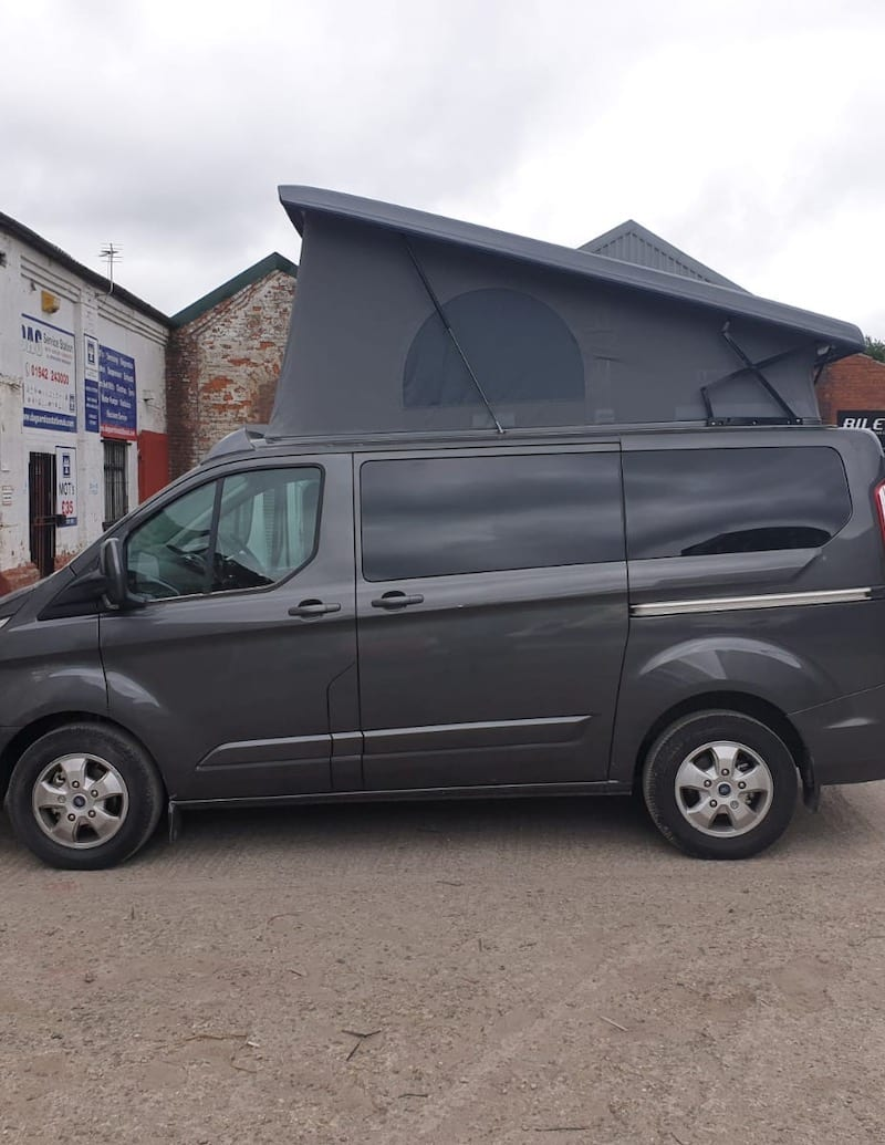 Ford Transit Pop Roof